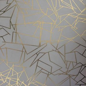 Ericka Wakerly Angles Gold/Zinc Grey