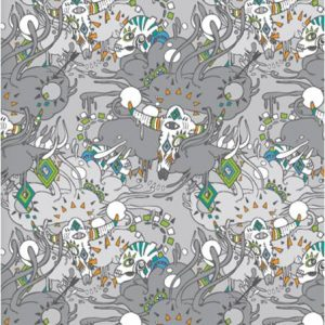 Milton & King-Wallpaper Republic WR0339GS
